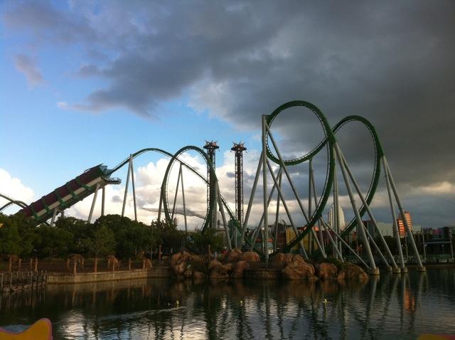Universal Studios the Hulk