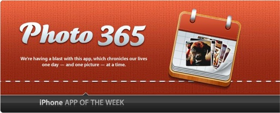 Photo 365 app of the week