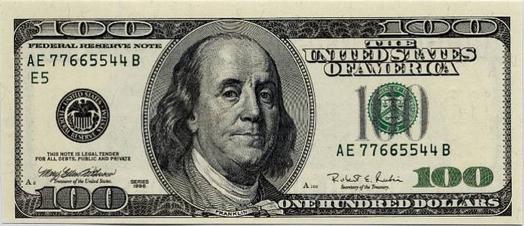 100 bill
