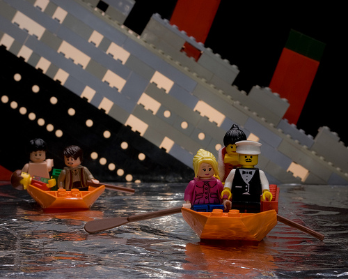 Lego Titanic