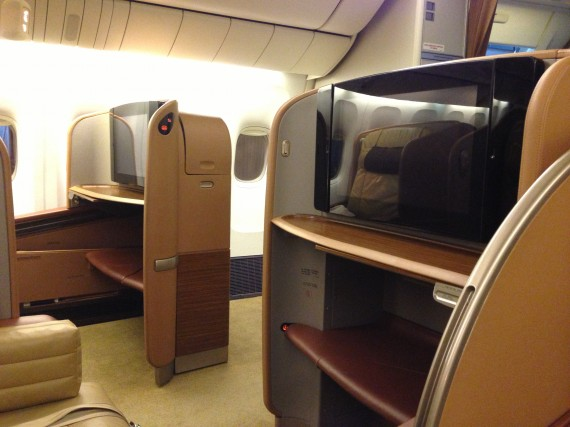 Singapore Airlines First Class 777-300