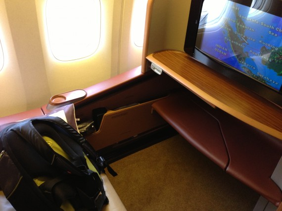 Singapore Airlines 777-300 First Class