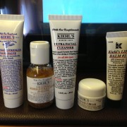 Singapore Airlines First Class Singapore Sydney Kiehl's