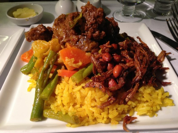 Singapore Airlines Book the Cook Beef Rendang