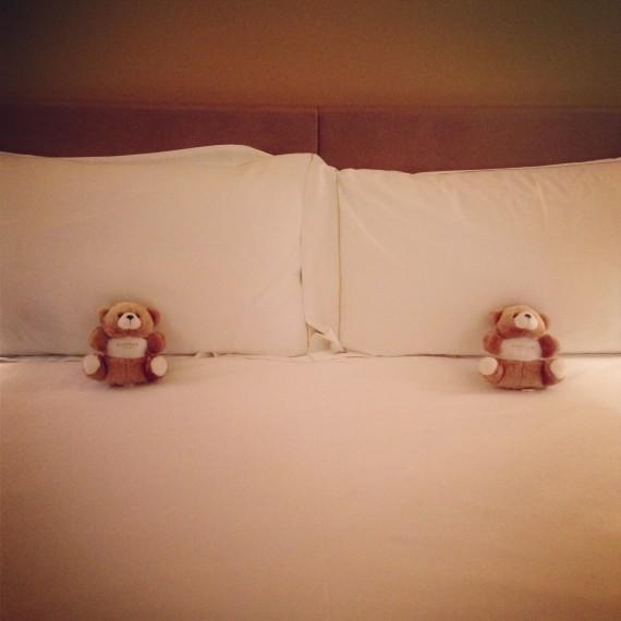 Conrad Hilton teddy bears