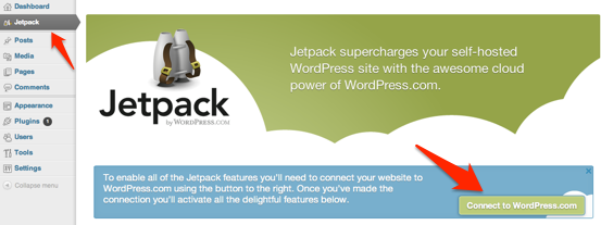 How to install and setup the WordPress Jetpack plugin