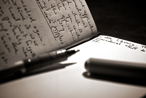 write letters to heal pain release anger let go and start  writing to heal