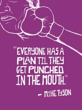 Mike Tyson Quote Punched in the Mouth