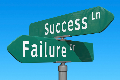 No Success without Failure